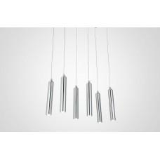 3-Light Modern LED Simple And Elegant Chandelier x 2
