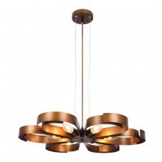 Modern Minimalist Metal Flower Chandelier with 61 E12 Bulb Socket 360W Copper Surface Personality Fashion Creative Art Chandelier