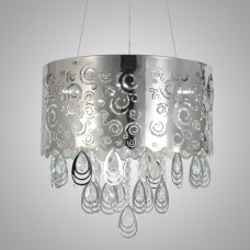Simple and elegant modern crystal chandelier ceiling light